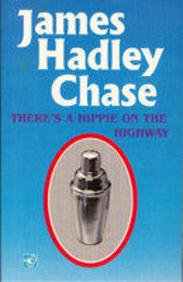 book cover of There\'s a Hippie On the Highway