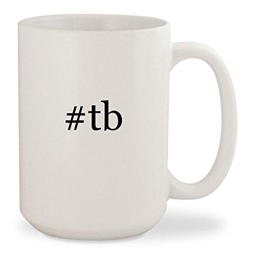 Price comparison product image tb - White Hashtag 15oz Ceramic Coffee Mug Cup
