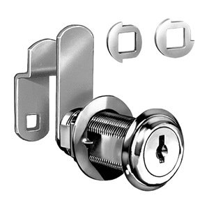 Key C8060-14A-C346A COMPX NATIONAL CECOMINOD031571 Nickel Disc Tumbler Cam Lock 1-3//4