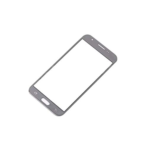 for Samsung Galaxy J3 2017 Prime SM-J327 J327R4 J327T1 J3 Amp Prime 2 J327AZ J3 Emerge J327A J327P J3 V 2017 J327V J327VPP LCD ReplaceDisplay Touch Screen Digitizer (Silver-Only Out Glass Lens Touch)