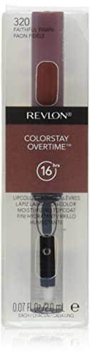 Revlon ColorStay Overtime Lipcolor, Faithful Fawn