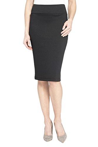 Rekucci Womens Comfort Pencil Skirt