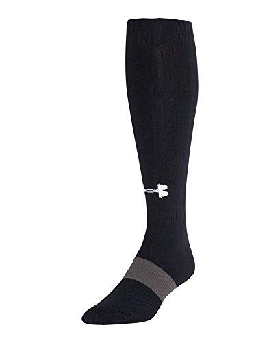 Under Armour Kids' UA Soccer Over-The-Calf Socks Large Black