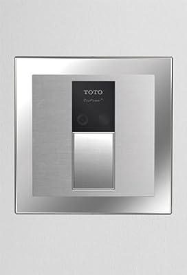 Toto TEU3UN11#SS EcoPower High Efficiency Urinal 1/8-GPF Flushometer Valve, Stainless Steel