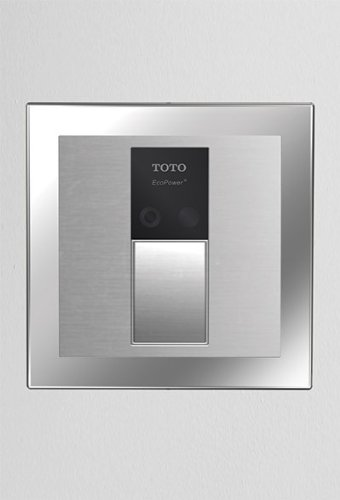 Toto TEU3UN11#SS EcoPower High Efficiency Urinal 1/8-GPF Flushometer Valve, Stainless Steel by TOTO (Image #1)