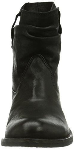 Buffalo London ES 30492 MEXICO - Botas de cuero para mujer negro - Schwarz (PRETO 01)