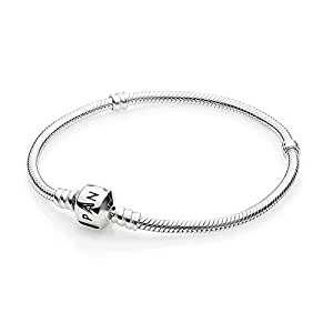 7f01ce67e3f9 PANDORA Women s Standard 925 Sterling Silver Bead Clasp Charm ...
