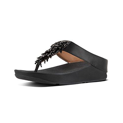 Toe Sandals Black Womens Rumba FitFlop 001 Thong Nero n7qxwvvOSp