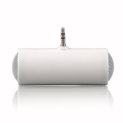 ステレオミニスピーカー MP3プレーヤー アンプ ラウドスピーカー 携帯電話用 3.5mm   B07NBYK66V