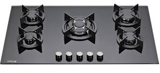 MILLAR GH9051XB 90cm Built-in 5 Burner Gas on Glass Hob / Cooker / Cooktop with FFD