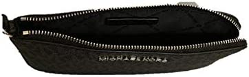 Michael Kors Jet Set Travel Large Top Zip Signature PVC Wristlet Clutch