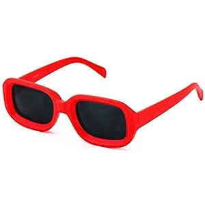 Clout Goggles Square Fashion Nirvana Sunglasses Colorful Square Kurt Cobain