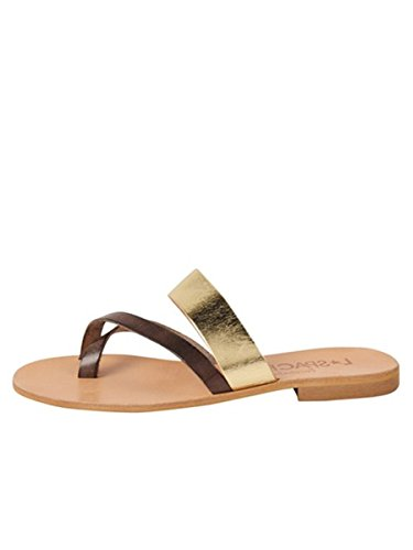 Cocobelle Mujeres Iris Sandal Sandal 36 M Eu Smoke