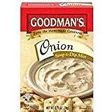 Goodman's Onion Soup & Dip Mix KFP 2.75 Oz. Pack Of 3.