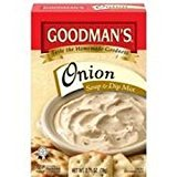 Goodman's Onion Soup & Dip Mix KFP 2.75 Oz. Pack Of 3. by Goodman's