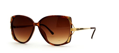 Vintage Dior Sunglasses (Christian Dior 2529 11 Brown and Red Authentic Women Vintage Sunglasses)