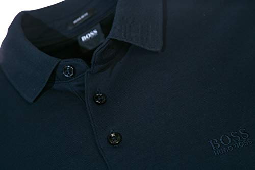 7c8ae4b5c BOSS Pado 11 Long Sleeve Polo Shirt in Navy 3XL available in Kuwait ...