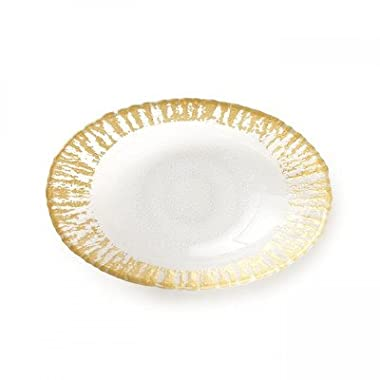 Rufolo Glass Oval Serving Bowl