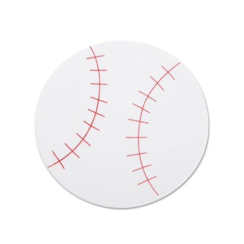 WeGlow International WGI Mini Foam Shapes - Baseballs (Set of 30) ()