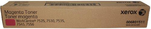 Xerox Metered Toner Cartridge, Magenta, for WorkCentre 7525, 7530, 7535, 7545, 7556 (006R01511)