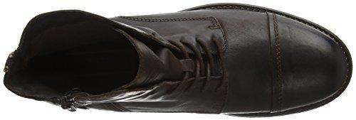 JACK & JONES Jfwsiti Leather Boot, Botas Militar Para Hombre Marrón (Brown Stone)