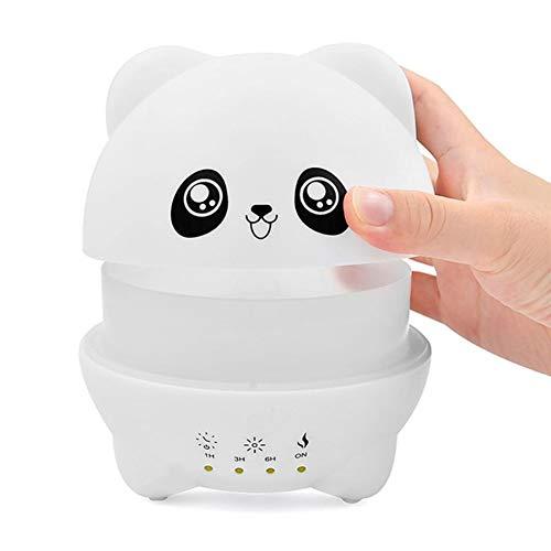 dezirZJjx 300ml Premium Essential Oil Diffuser, Double Spray Mist Diffuser,Cartoon Panda Aroma Diffuser with Whisper-Quiet Operation Water Humidifier - Cigarette Replacement Vaporizer