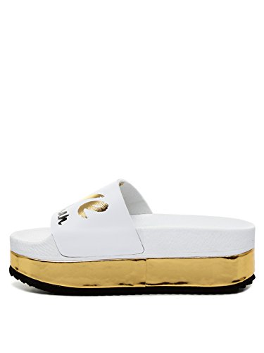 Women The Friday Sandals Brand White 39 High qwA41