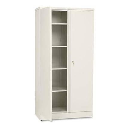 HON Metal Storage Cabinet 5 Shelves 36u0026quot; W x 18u0026quot; D x  sc 1 st  Amazon.com & Amazon.com: HON Metal Storage Cabinet 5 Shelves 36
