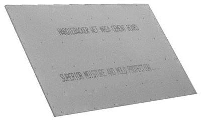 "3'x5'x1/2"" Cement Board, Pack of 50"