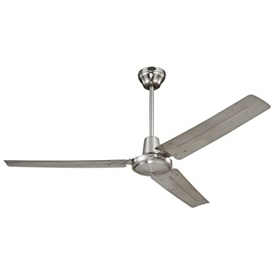 Westinghouse 7861400 Industrial 56-Inch Three-Blade Ceiling Fan with Ball Hanger Installation System