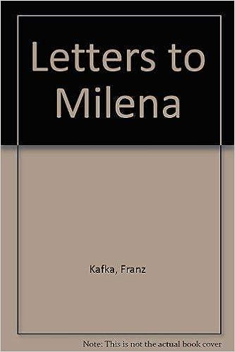 Letters to Milena: Amazon.es: Franz Kafka, Willy Haas ...