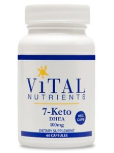Vital Nutrients - 7-keto® Dhea 100mg 60c