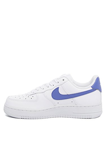 Force Nike Air Sneakers 1 Pelle Wmns Donna 07 Bianco qq1txSzw