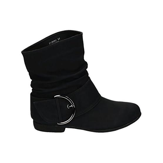 3195I8 q6mL. SS555  - King Of Shoes Damen Stiefeletten Cowboy Western Stiefel Boots Flache Schlupfstiefel Schuhe 91