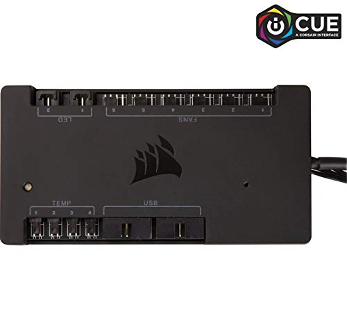 - CORSAIR iCUE Commander PRO Smart RGB Lighting and Fan Speed Controller