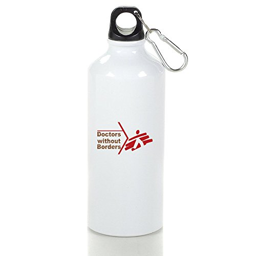 Doctors Without Borders Cool Aluminum Sports Water Bottle - 400/500/600ML 500ml