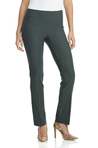 [해외]Rekucci 여성은 편안함을 느끼기 쉽도록 스트레이트 레그 팬츠를 편안하게합니다./Rekucci Women`s Ease In To Comfort Straight Leg Pant With Tummy Control