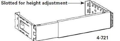 Graber 2 1 2 Inch Dauphine Wide Pocket Curtain Rod 66 To 156 Inch Adjustable Ebay