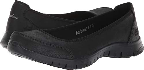 Skechers Relaxed Fit EZ Flex Renew Sweet Picture Womens Slip On Skimmer Sneakers Black 10 by Skechers