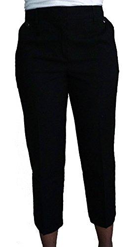 Talbots Heritage Womens Black Crop Capri Pants Size 10 ()