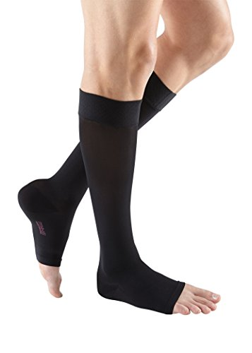 mediven Plus, 20-30 mmHg, Calf High w/Silicone Topband, Open Toe