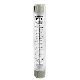 Tipo Tubo eDealMax 0.1-1GPM agua Instrumento de medición del medidor de caudal