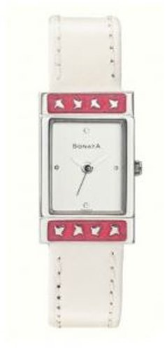 Sonata Analog White Dial Women #39;s Watch   NA8071SL02