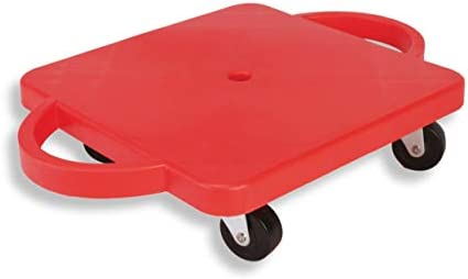 American Educational Products Scooter with Rounded Handle, 12 , Red