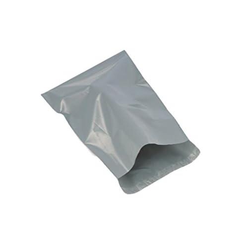 (Lot de 20) Gris 400x 530mm, postaux Poly postal Plastique enveloppes d'expédition Sacs d'emballage Mail Package autocollante enveloppe