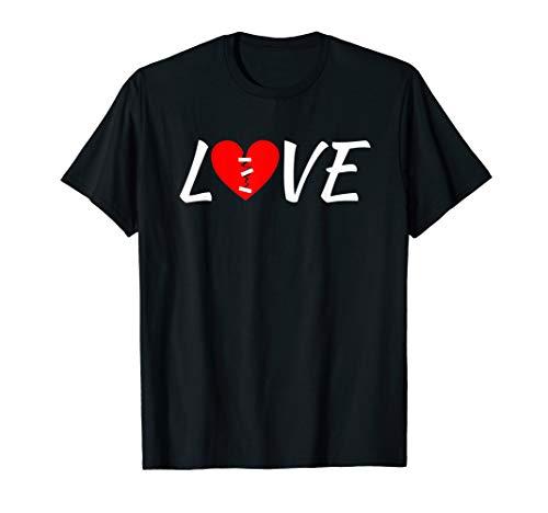 Broken Heart Shirt - Cute Love Bandaged Broken Heart T-Shirt