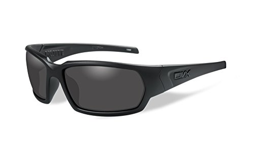 DVX by Wiley X- MOJAVE- SUN & SAFETY GLASSES- POLARIZED GREY LENSES/MATTE BLACK - Dvx Sunglasses