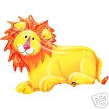 "LION Jungle ZOO Roar 28"" Party ANIMALS Mylar BALLOON"