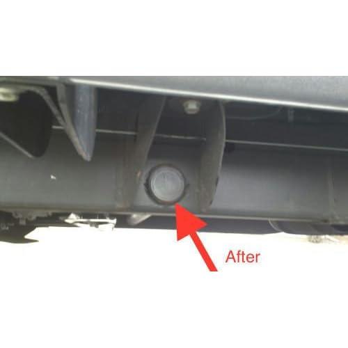 2500HD Silverado Sierra Cab FRAME Tube Plug Cap 2001-2018 2500 HD Set of 2
