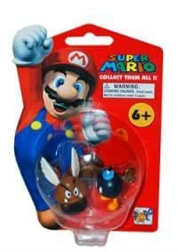 Super Mario Brothers: Nintendo Wave 1 / Para Goomba & Bob-omb Action Figure